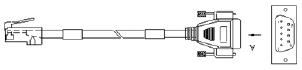 Консольный кабель. Alcatel.